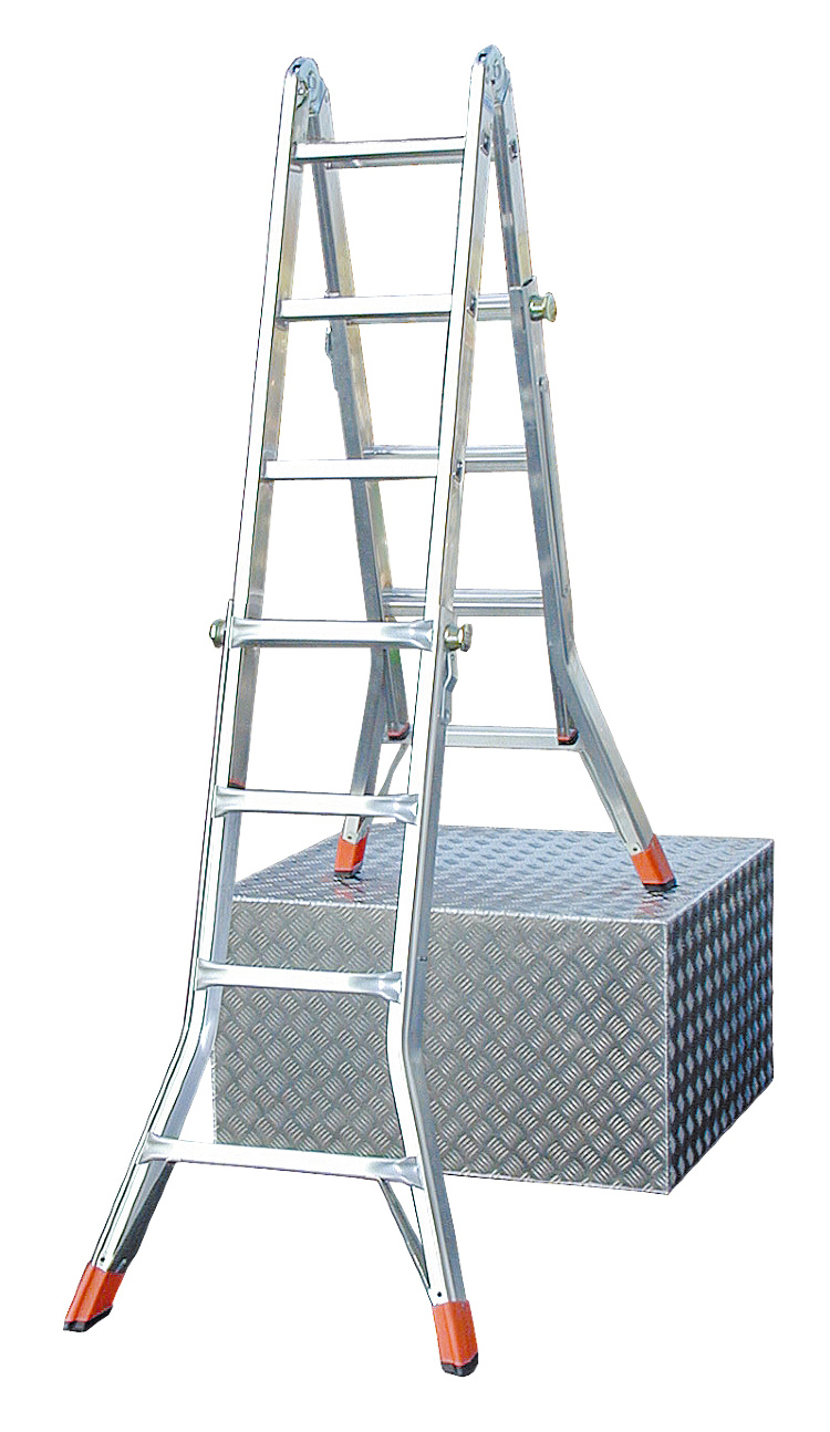 Телескопическая лестница трансформер купить